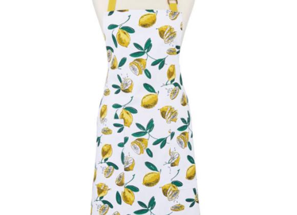 Delantal algodón Limones