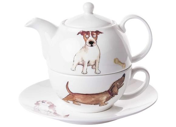 Tea for one Perritos