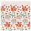 Thumbnail: Servilletas papel Flores Naranjas