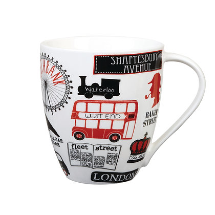 Taza muybritish bus