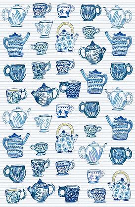 Paño algodón Tea Cups