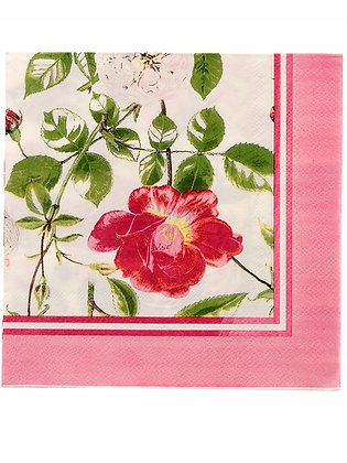 Servilletas de papel Rosas