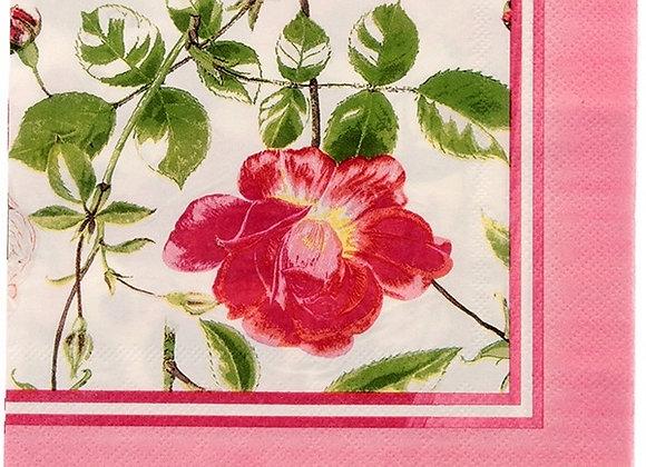 Servilletas papel Rosas