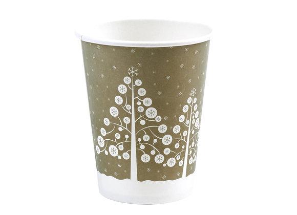 """8 Vasos de Papel """"Winter Wonderland"""""""