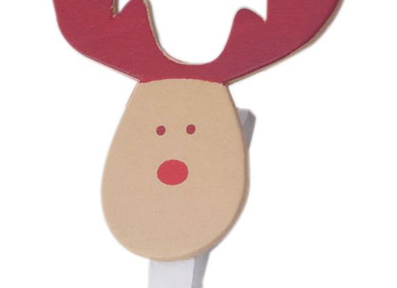 Cuelga fotos de madera Rudolf