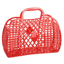 Bolso mini PVC Rojo