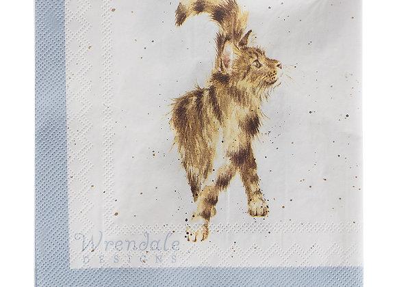 Servilletas papel Gatos