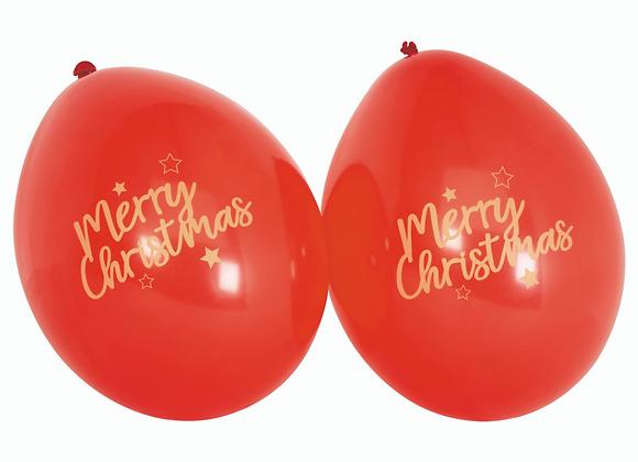 Globos Merry Christmas