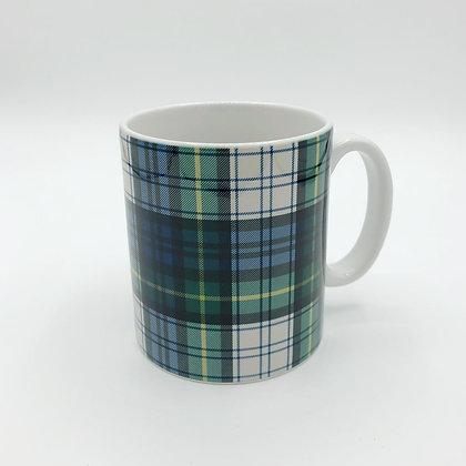 Taza Cuadros Escoceses Verde Claro
