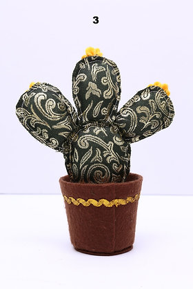 Cactus de tela grande