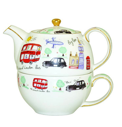 Tea for One Taxi + Bus LONDON