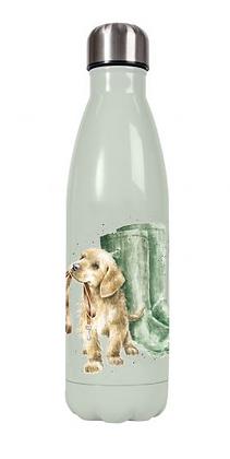 Botella metálica Perros