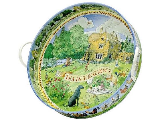 Bandeja metálica Tea In The Garden