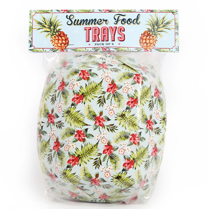 Bowls de papel verano