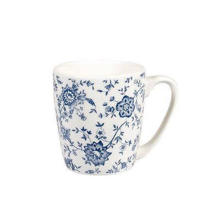 Taza Azul Flores