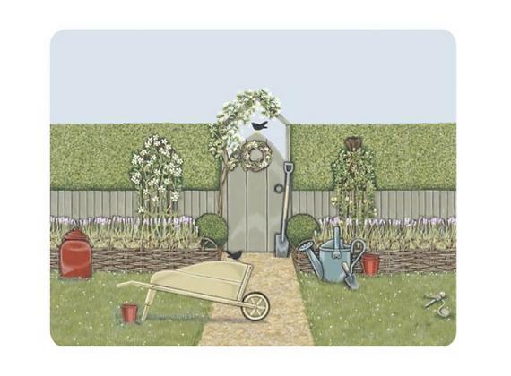 Individual corcho - Jardín
