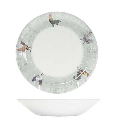 Bowl  porcelana Gallos 20cm