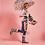 Thumbnail: Paraguas transparente Mostaza/Gris