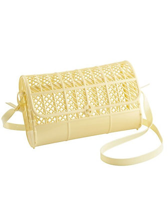 Bolso mini PVC Amarillo