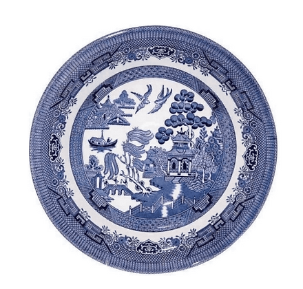 Bowl  mediano Blue Willow  20cm