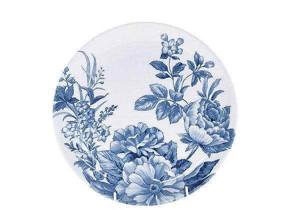 Bowl porcelana floral azul