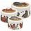 Thumbnail: Set 3 latas grandes gallinas