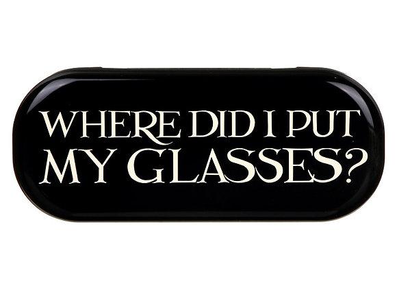 Funda gafas - Where did i put my glasses?