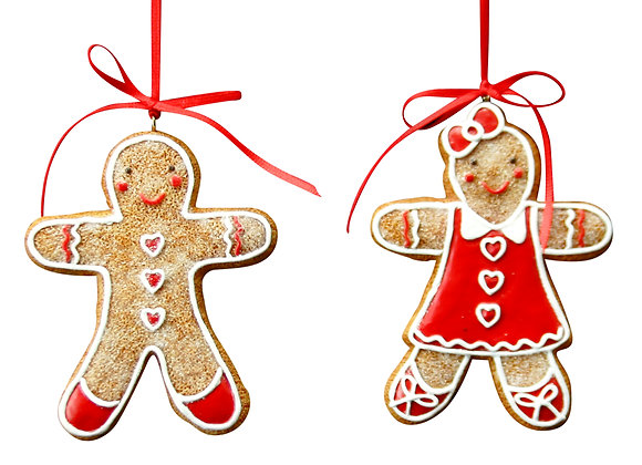 Deco gingerbread para árbol NIÑA