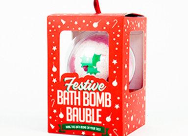 Bomba de jabón Navidad