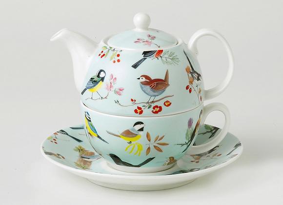 Tea for one pajaritos