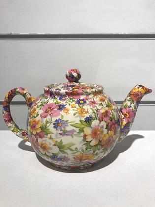 Tetera Grande Porcelana Flores Primavera