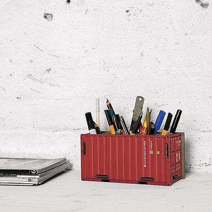 Lapicero contenedor rojo