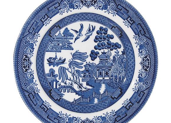 Plato postre Blue Willow 20 cm