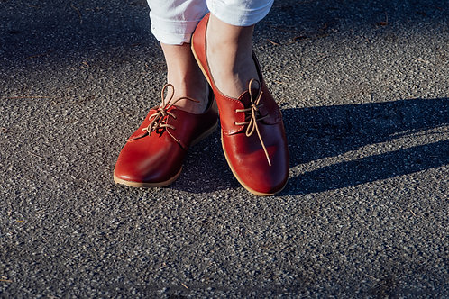 STEPS leather vellies
