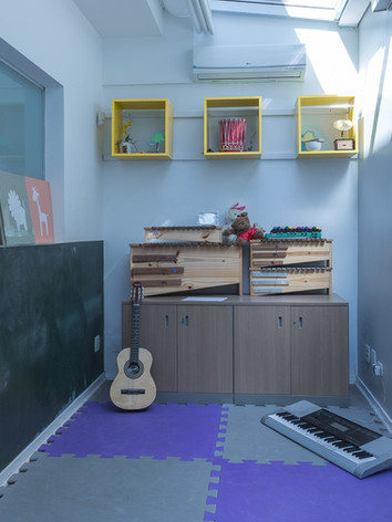 Sala de musicoterapia