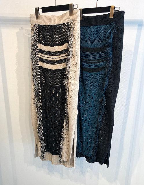 Long Knit Skirt