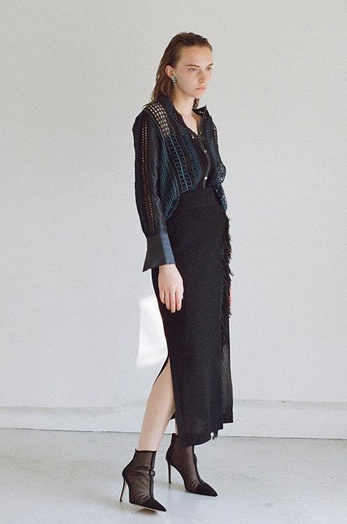 Fringe Long Skirt