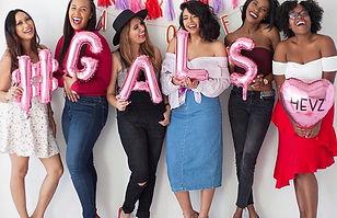 Saturday's are for the gals! ❤️ I'm so e