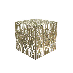 BURNING NOTRE DAME TABLE