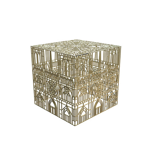Burning Notre-Dame Table