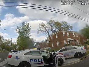 D.C. Releases Body-Camera Footage Of Officers Crashing Cruisers After Drag-Racing