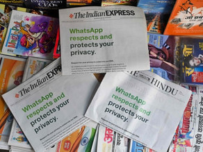 WhatsApp sues Indian government over 'mass surveillance' internet laws