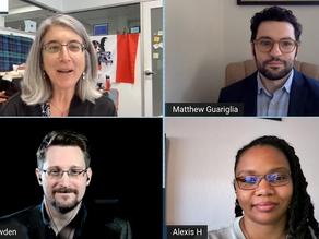 Snowden, Privacy Activists Talk Surveillance Tech in 2021