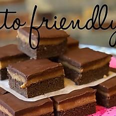 KETO friendly Peanut Butter Brownie