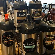 Fresh Brewed Organic Coffee
