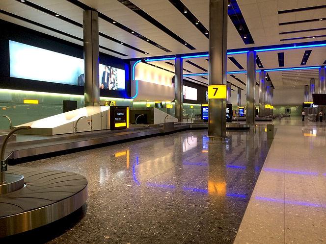 Baggage System - Terminal 2 - Gebler Tooth