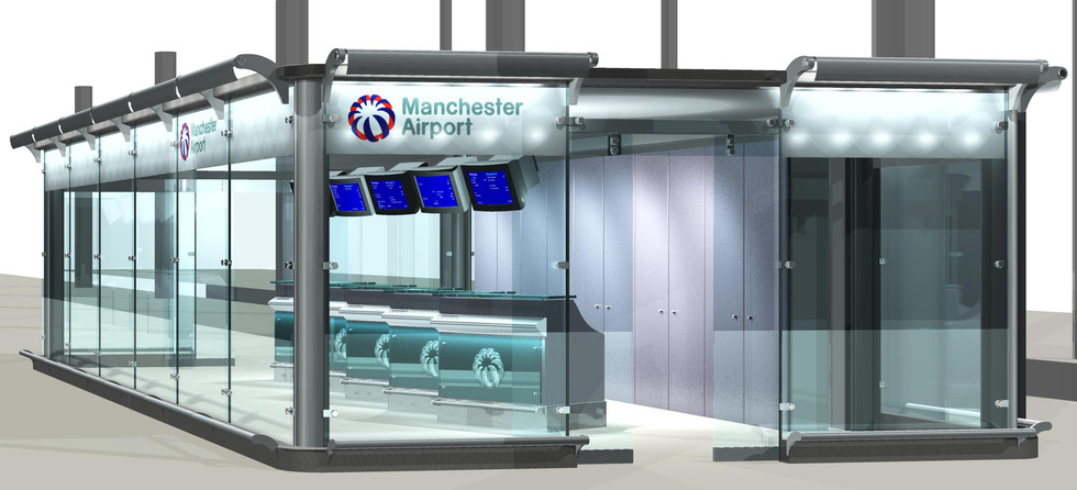 Manchester Airport - Check In - Gebler Tooth