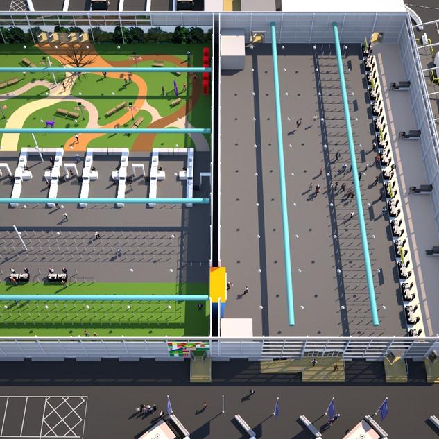 Pop Up Terminal Concept