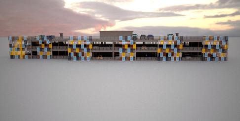 MSCP Car Park - Concept - Gebler Tooth