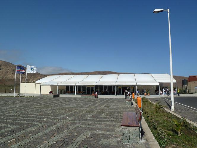 SaoNicolau Airport - Cape Verde - Gebler Tooth